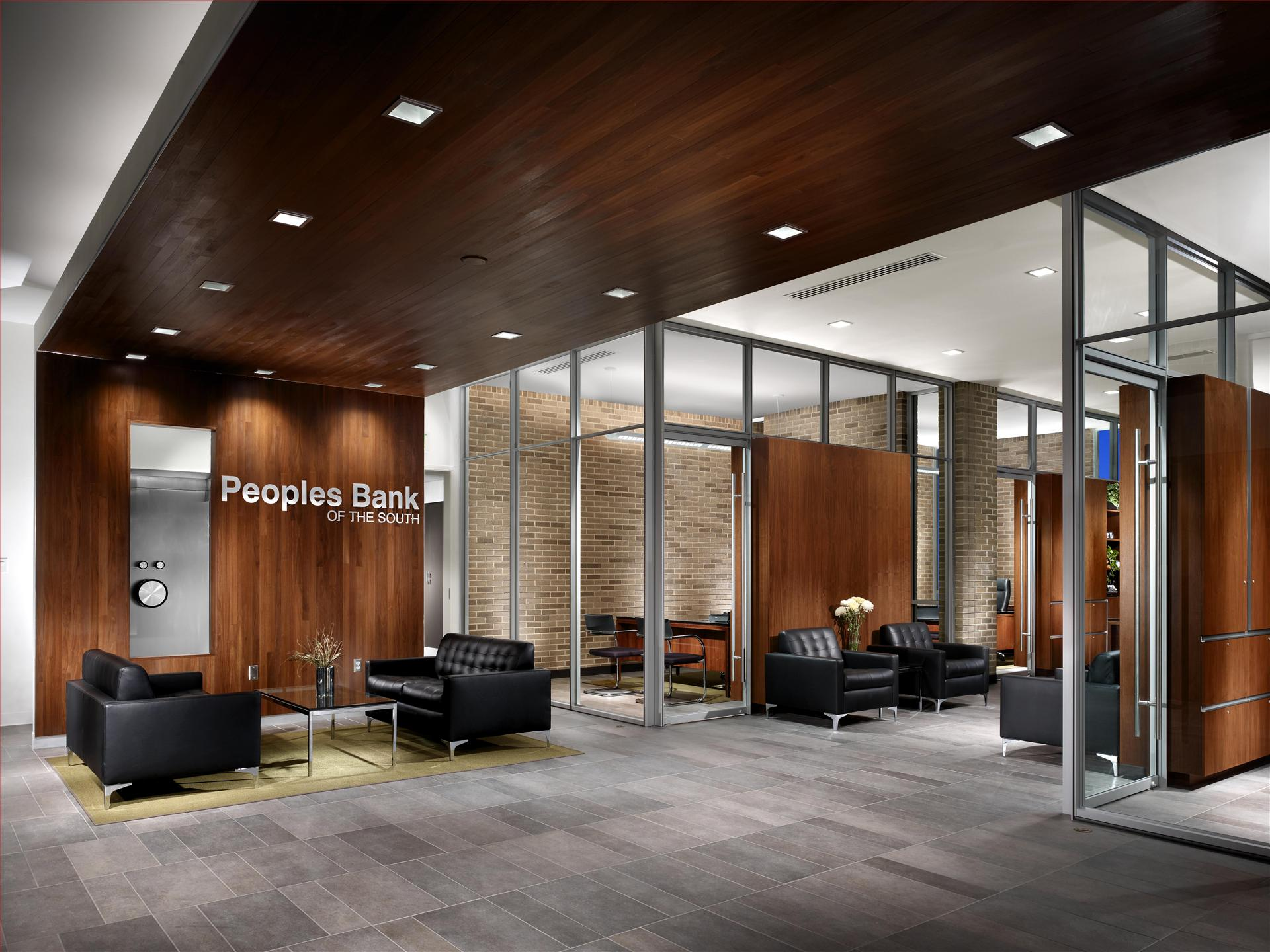 Peoples bank of the south lafollette tn jenkins for Bank designs architecture